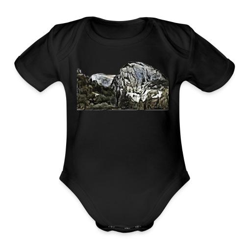 Cochamó - Patagonia - Chile - Organic Short Sleeve Baby Bodysuit