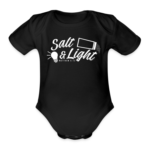 Salt & Light - Organic Short Sleeve Baby Bodysuit