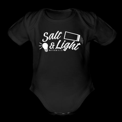Salt & Light - Organic Short Sleeve Baby Bodysuit