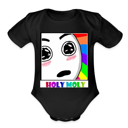 Untitled 6 - Organic Short Sleeve Baby Bodysuit