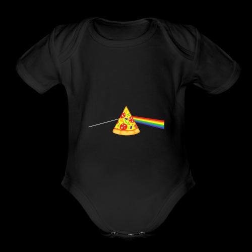 Pizza Prism - Organic Short Sleeve Baby Bodysuit