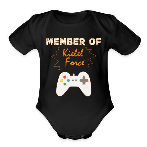 Kielel Force Shirt - Organic Short Sleeve Baby Bodysuit