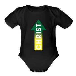 Christ up - Short Sleeve Baby Bodysuit
