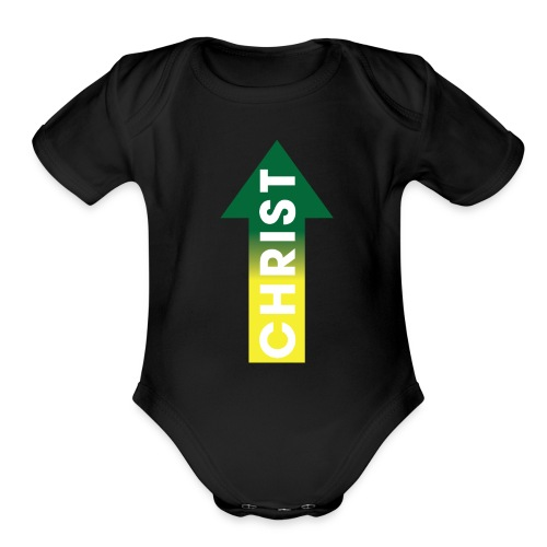 Christ up - Organic Short Sleeve Baby Bodysuit