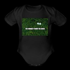 monkeybushbanner - Short Sleeve Baby Bodysuit
