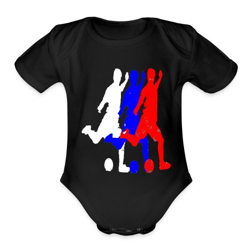 RUSSIA 2018 - Organic Short Sleeve Baby Bodysuit