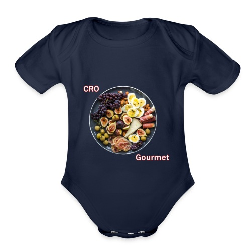 Croatian Gourmet - Organic Short Sleeve Baby Bodysuit