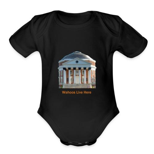 Wahoos' Playground - Organic Short Sleeve Baby Bodysuit