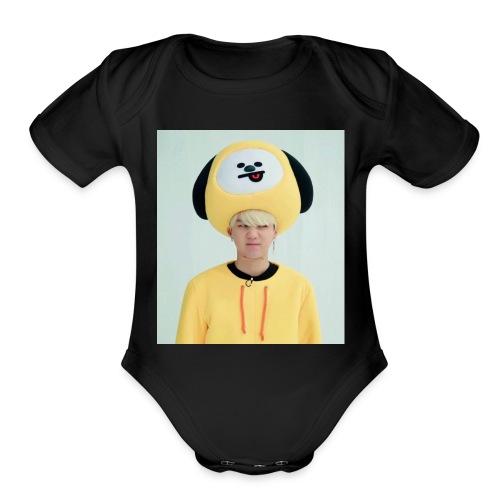 9E50E010 284F 4D39 AA62 3DA267932B48 - Organic Short Sleeve Baby Bodysuit
