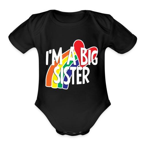 Sister - Organic Short Sleeve Baby Bodysuit