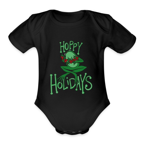 Hoppy Holidays - Organic Short Sleeve Baby Bodysuit