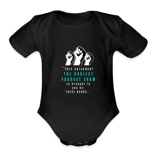 THESE_HANDS_FRONT_1-11_LARGE - Organic Short Sleeve Baby Bodysuit