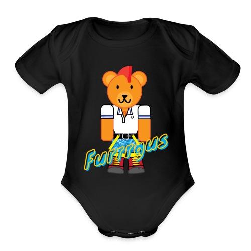 Skinhead Furrrgus - Organic Short Sleeve Baby Bodysuit