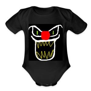 clownster - Short Sleeve Baby Bodysuit