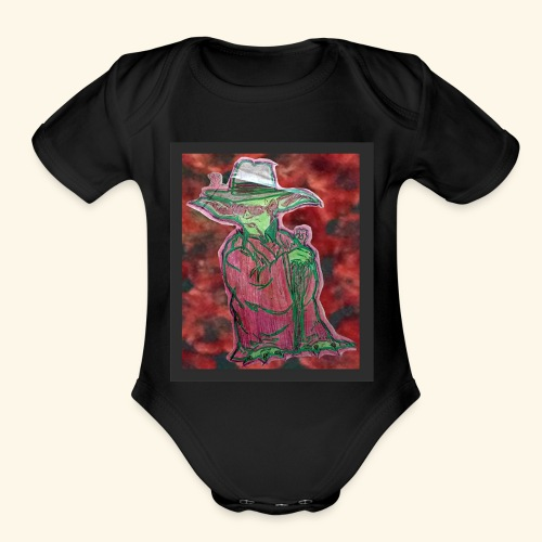 Yoda S. Thompson - Organic Short Sleeve Baby Bodysuit
