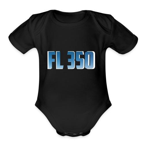 FL350 - Cache-couche à manches courtes bio