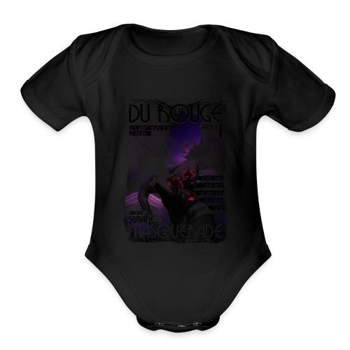 THE ROUGE - Organic Short Sleeve Baby Bodysuit
