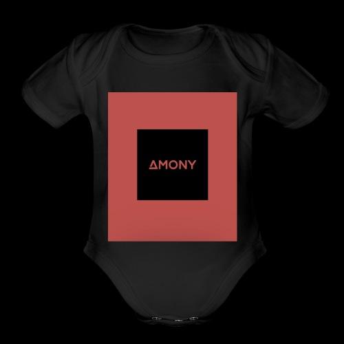 IMG 1442 - Organic Short Sleeve Baby Bodysuit