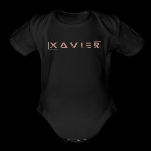 XAVIER GOLD EDITION - Organic Short Sleeve Baby Bodysuit