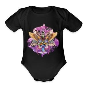 Harpy goddess - Short Sleeve Baby Bodysuit
