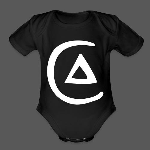Circulation of Fire - Organic Short Sleeve Baby Bodysuit