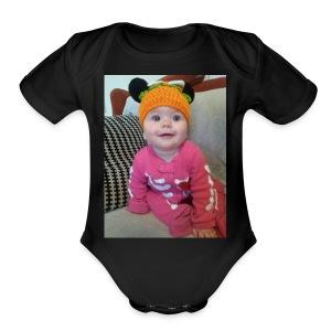 Baby onzie - Short Sleeve Baby Bodysuit