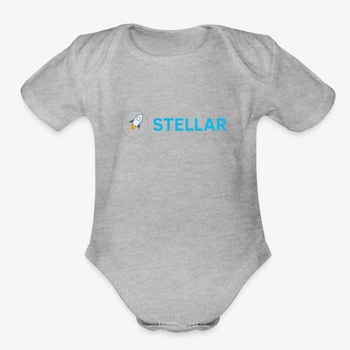 Stellar - Organic Short Sleeve Baby Bodysuit