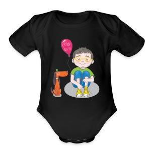 I Can Do It - Short Sleeve Baby Bodysuit