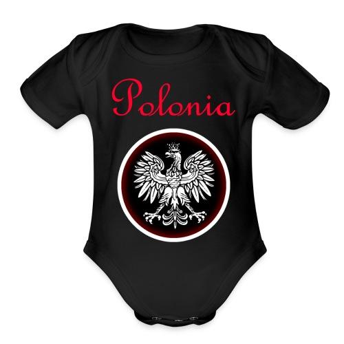 Polonia - Organic Short Sleeve Baby Bodysuit
