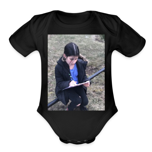 support LOL's merch! ;) - Organic Short Sleeve Baby Bodysuit