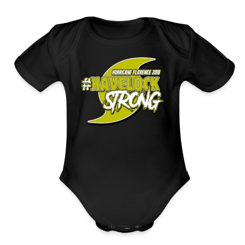 HAVELOCK STRONG - Organic Short Sleeve Baby Bodysuit