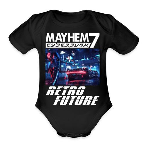 M7 Cyberpunk - Organic Short Sleeve Baby Bodysuit