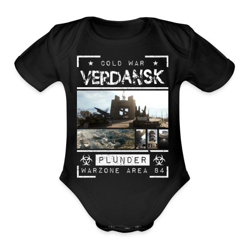 Verdansk Plunder - Organic Short Sleeve Baby Bodysuit