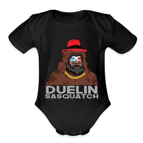 Duelin Sasquatch - Organic Short Sleeve Baby Bodysuit