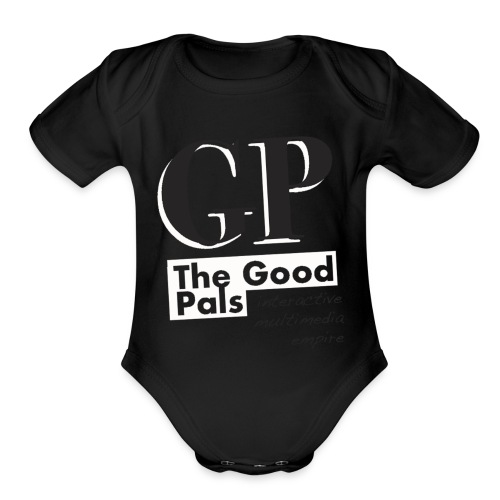 High Fashion Good Pals Action - Organic Short Sleeve Baby Bodysuit