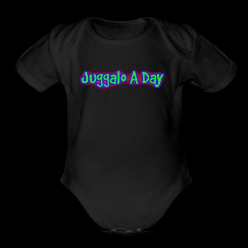 JAD - Organic Short Sleeve Baby Bodysuit