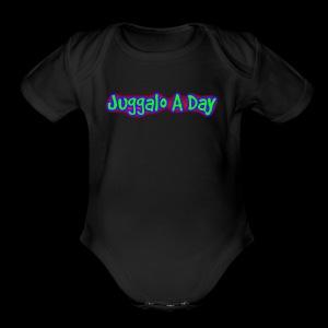 JAD - Short Sleeve Baby Bodysuit