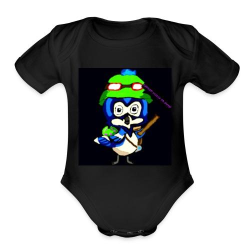 Captain Blu - Organic Short Sleeve Baby Bodysuit