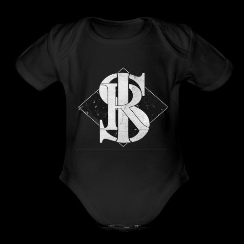 Skyline Standard logo - Organic Short Sleeve Baby Bodysuit
