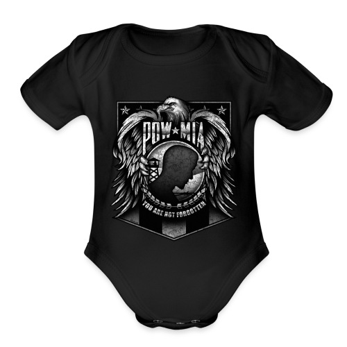 POW MIA - Organic Short Sleeve Baby Bodysuit