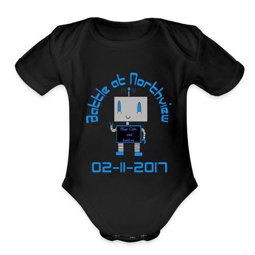tshirt - Organic Short Sleeve Baby Bodysuit