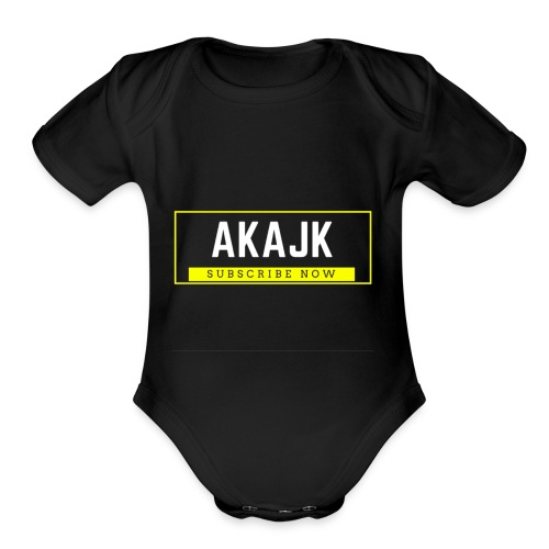 Subscribe Now!! - Organic Short Sleeve Baby Bodysuit