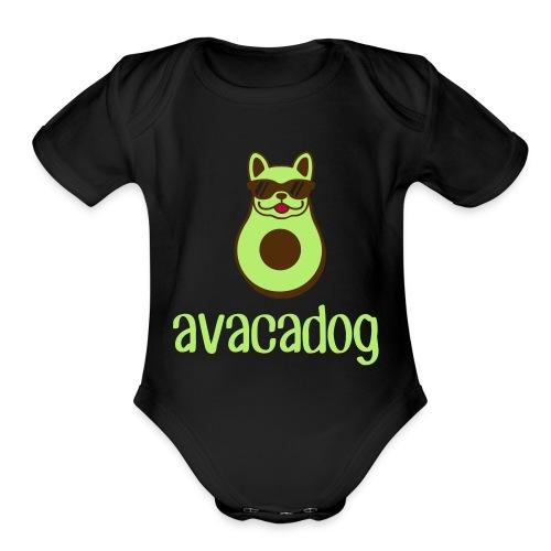 avacadog - Organic Short Sleeve Baby Bodysuit