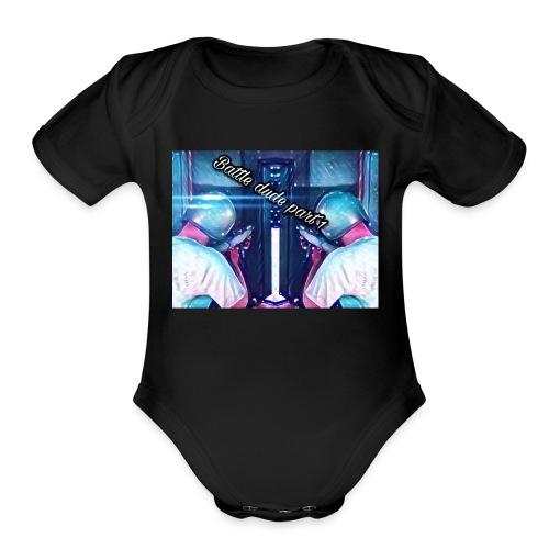 thumbnail art - Organic Short Sleeve Baby Bodysuit