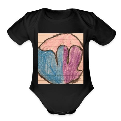 229B55BE 1792 40AB 9341 A179F76CC4AE - Organic Short Sleeve Baby Bodysuit