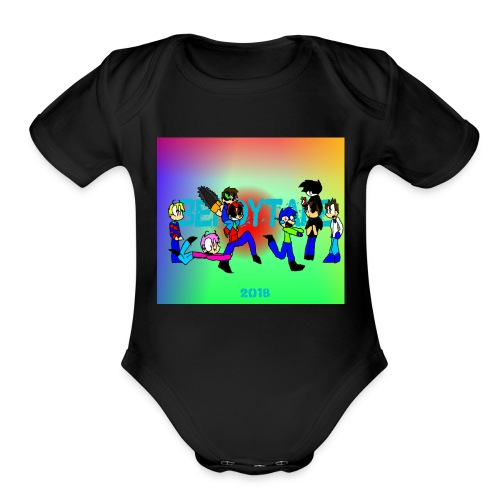 Bendytale phone case - Organic Short Sleeve Baby Bodysuit