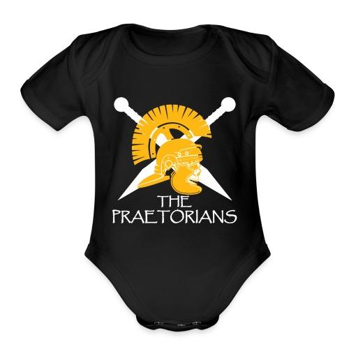 Praetorians logo - Organic Short Sleeve Baby Bodysuit