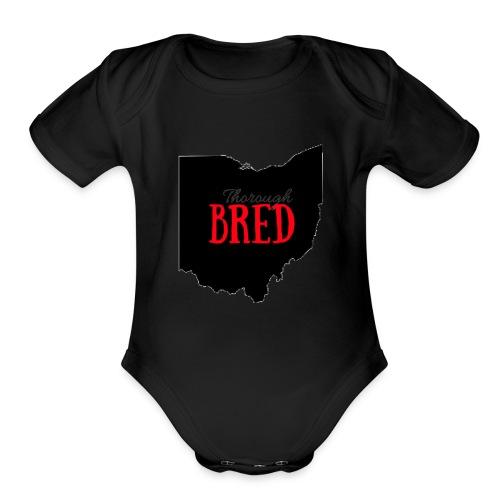 Ohio ThoroughBred - Organic Short Sleeve Baby Bodysuit
