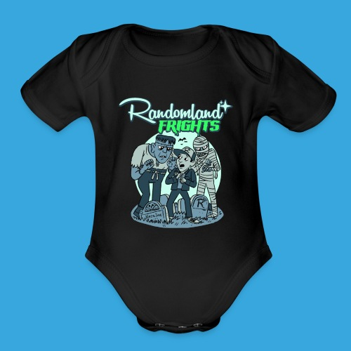 Fright Monsters - Organic Short Sleeve Baby Bodysuit