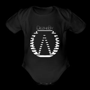 #Dezinebyow - Short Sleeve Baby Bodysuit